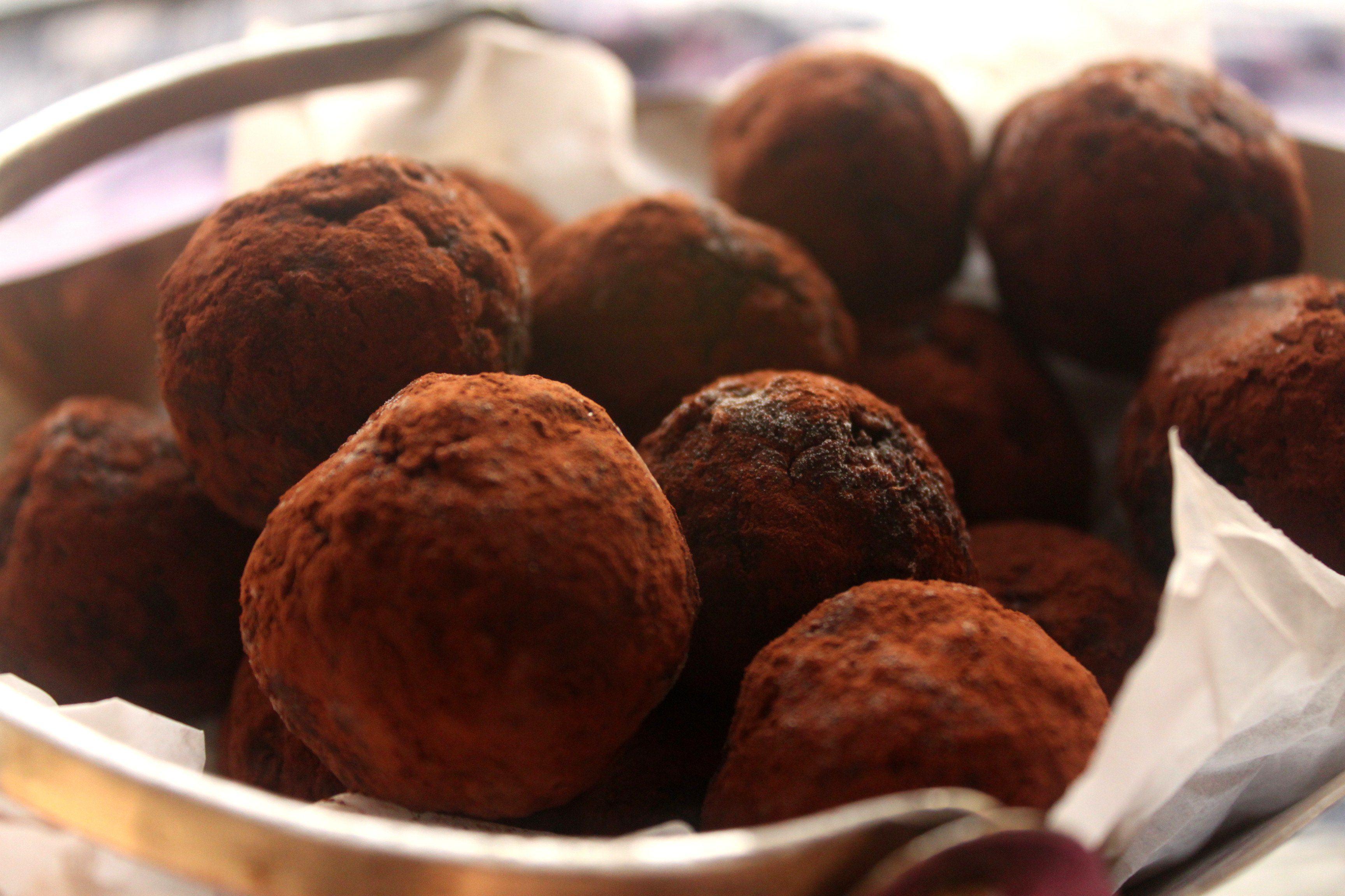 כדורי שוקולד אספרסו טבעוניים