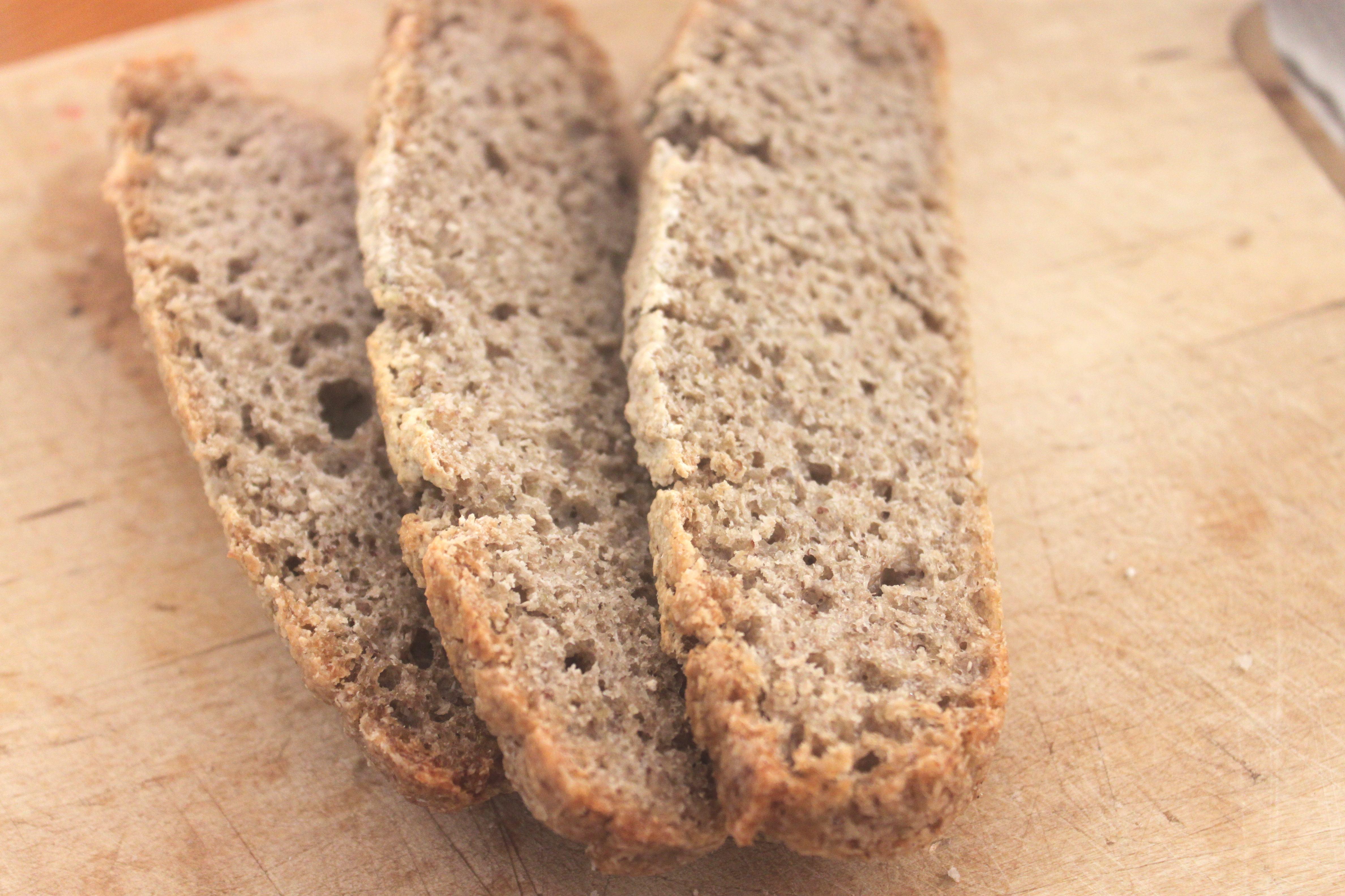 לחם כוסמת מלאה