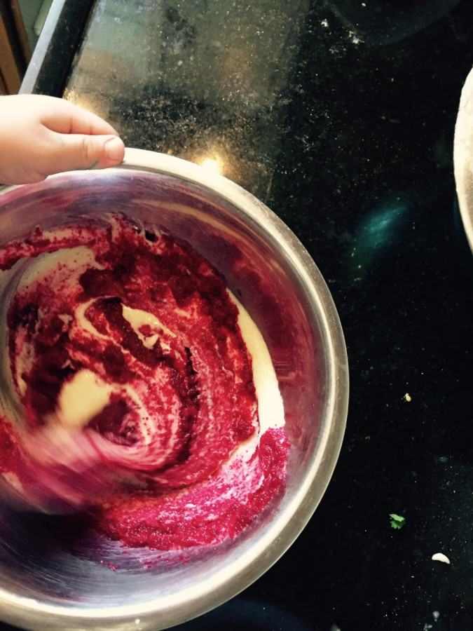 צבע מאכל אדום טבעי