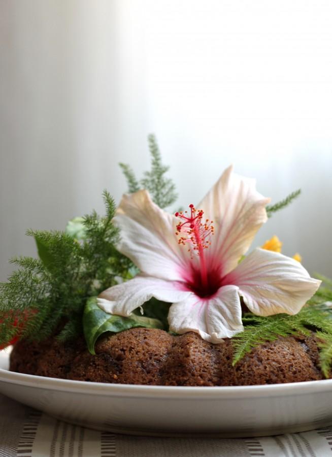 עוגת פירות ותבלינים טבעונית לכריסמס