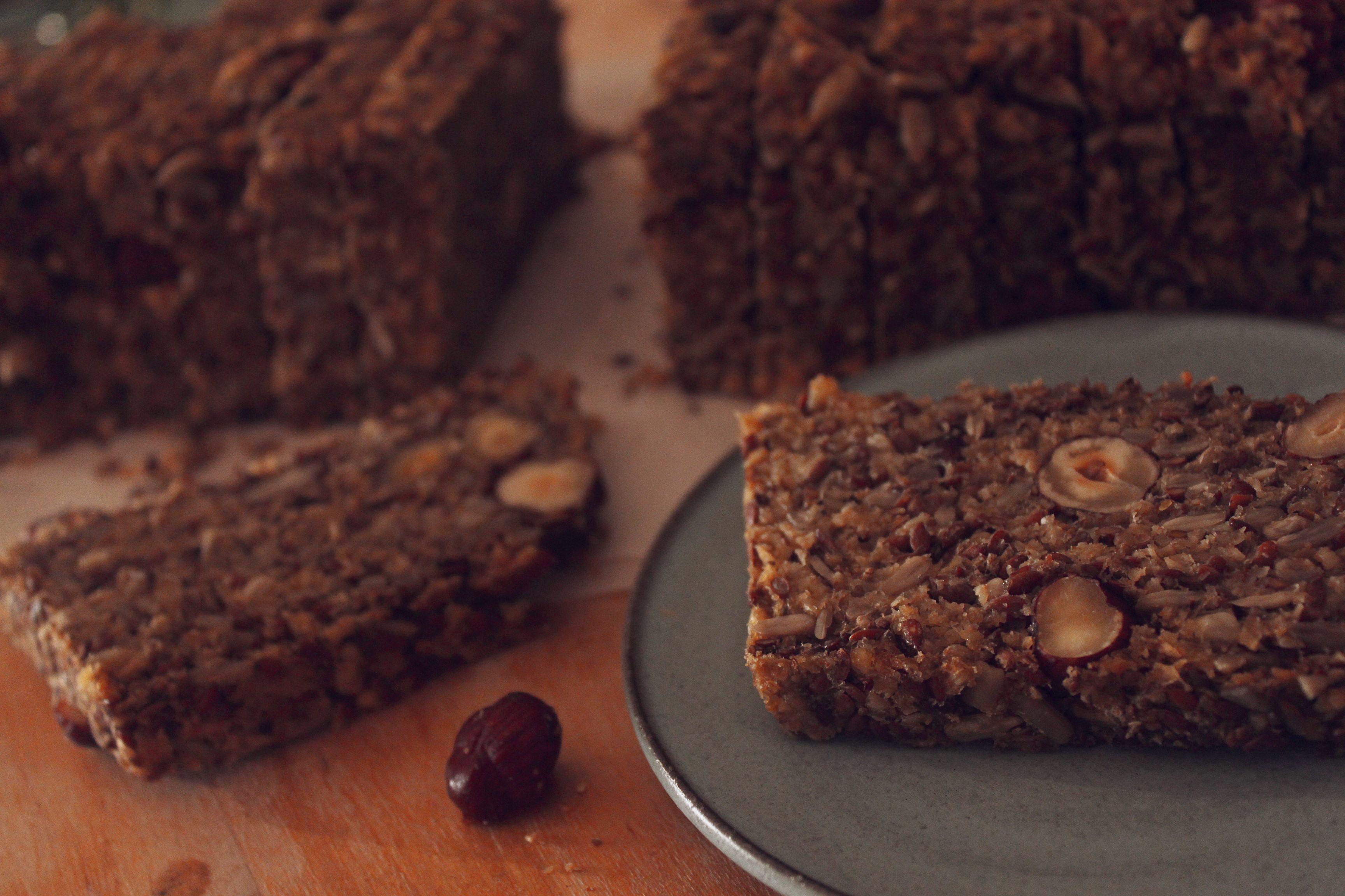 לחם ללא גלוטן טבעוני