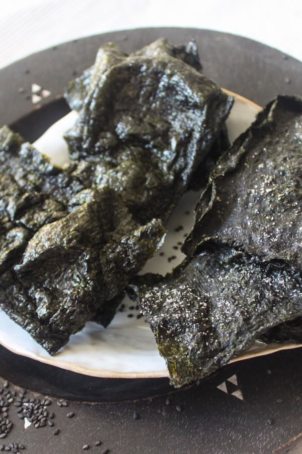 חטיף אצות נורי מלוח - מתכון טבעוני בריא